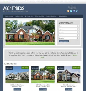 WordPress Real Estate Theme