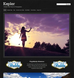 Kepler WordPress Theme