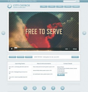 Malachi WordPress Church Theme