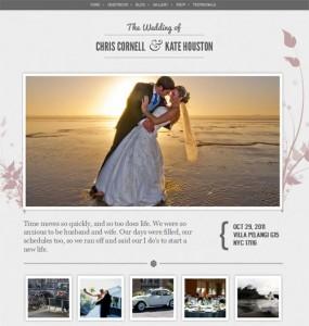 WordPress Wedding Theme