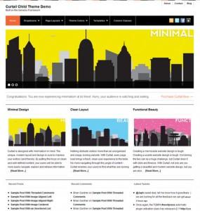 Curtail WordPress Theme
