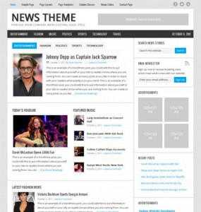 News Premium WordPress Theme