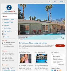 Vacation Rental WordPress Theme