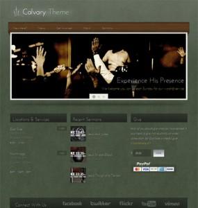 Calvary WordPress Theme