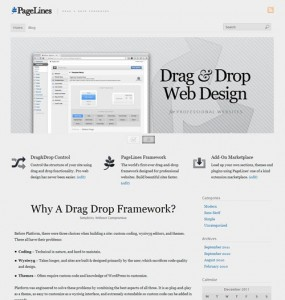 pagelines 2.0 WordPress theme framework