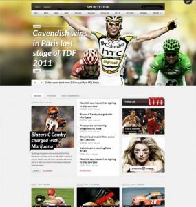 Sport Magazine WordPress Theme