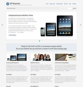 WP Responsive Premium WordPress Theme