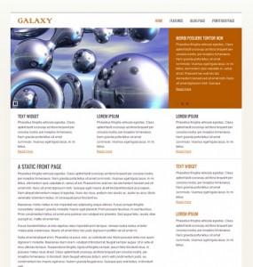 Galaxy WordPress Theme
