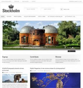 Stockholm Magazine WordPress Theme