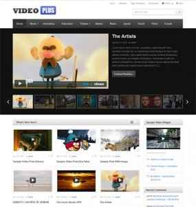 Video Plus WordPress Theme