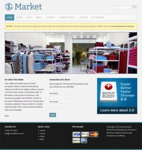 Market Ecommerce WordPress Theme