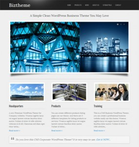 Co Business Corporate WordPress Theme