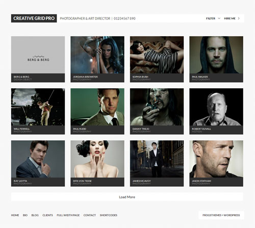 Creative Grid WordPress Theme