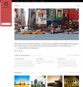 Merchant Premium WordPress Theme