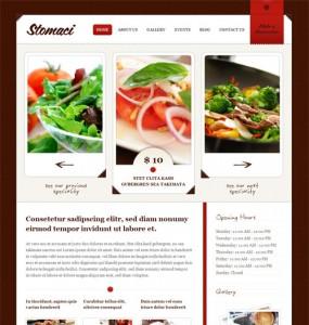 Restaurant Cafe WordPress Theme