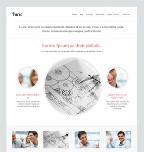 Vario Business WordPress Theme