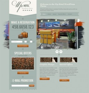 WP Hotel Premium WordPress Theme