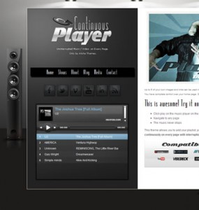 Music and Video WordPress Theme