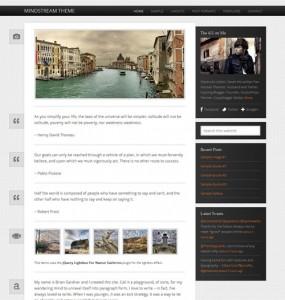 Responsive Lifestream WordPress Theme