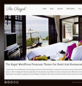 The Regal Responsive WordPress Theme