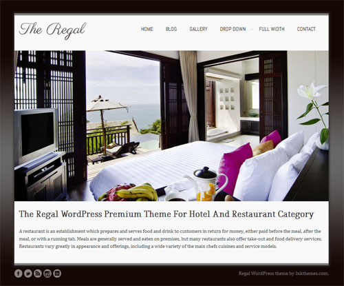 The Regal Responsive WordPress Theme