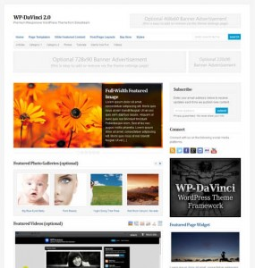 DaVinci 2.0 Premium WordPress Theme