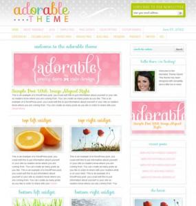 Adorable WordPress Magazine Theme