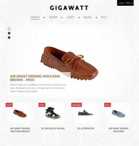 Gigawatt Ecommerce WordPress Theme