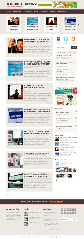 Textured Blog
