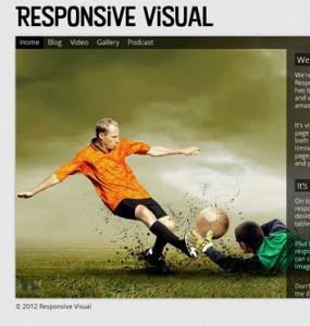 Responsive Visual WordPress Theme